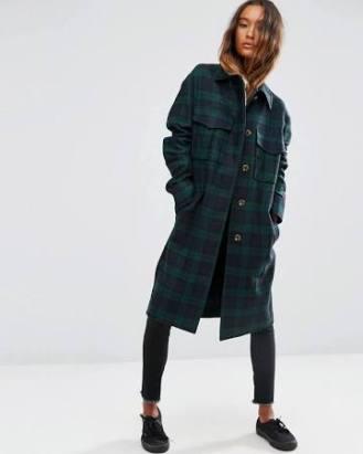 ASOS checker trench coats 84.00