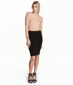 H&M Black pencil skirt 12.99