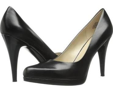 DSW nine west black pumps $44.49