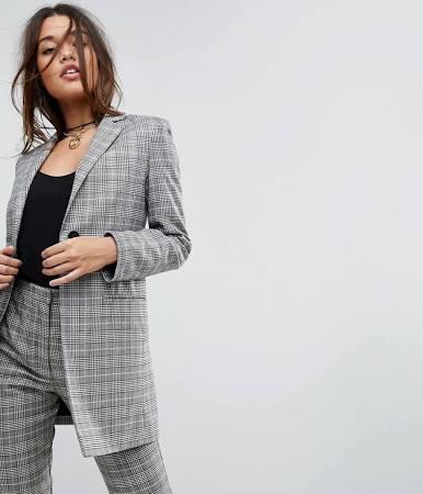 checker blazer